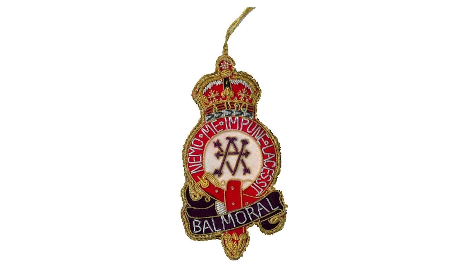 Balmoral Crest Decoration