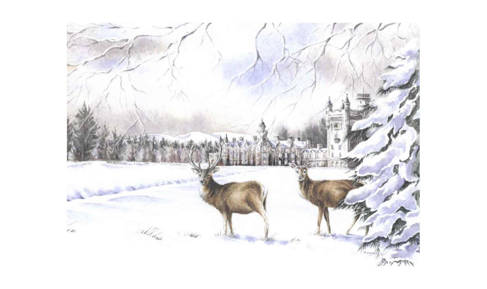 Balmoral Christmas Card Limited Edition
